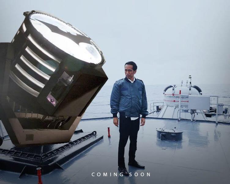 foto editan Jokowi