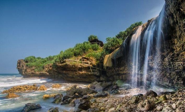 Air Terjun Pantai Jogan, Gunungkidul