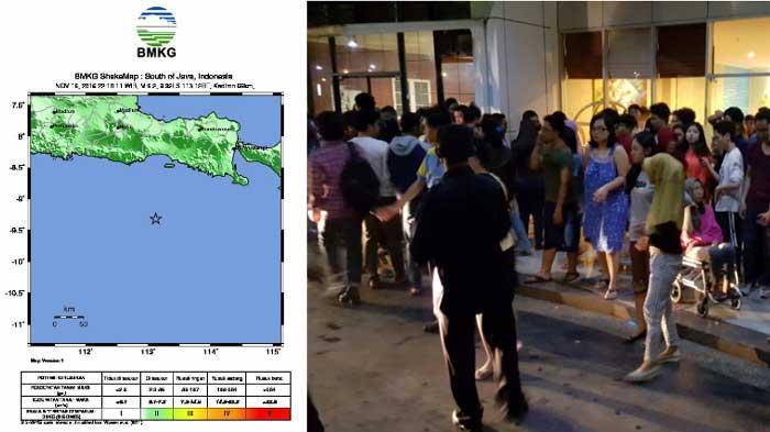 Gempa di Kota Malang