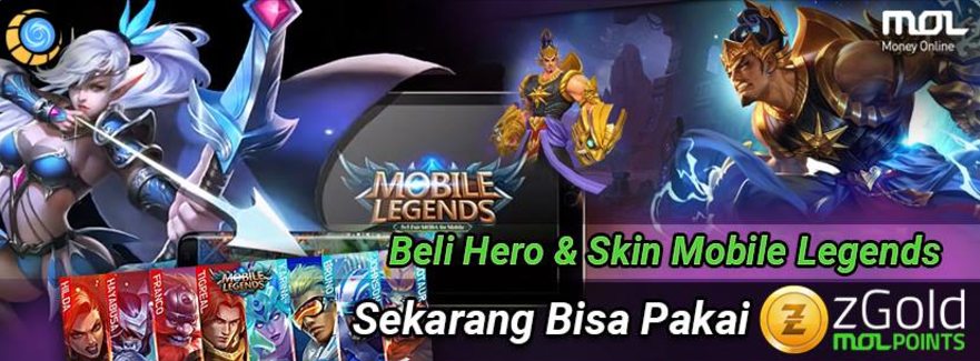 TOP UP MOBILE LEGENDS DENGAN zGold-MOLPoints