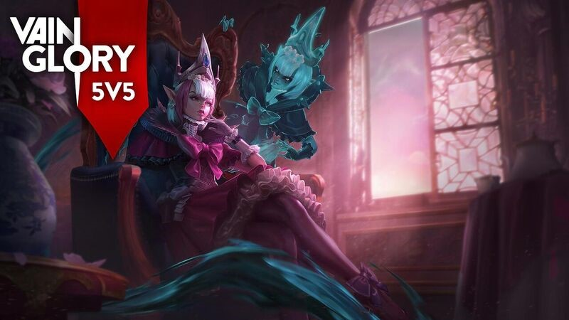 Malene – hero dengan kemampuan form shapeshifting light & shadow