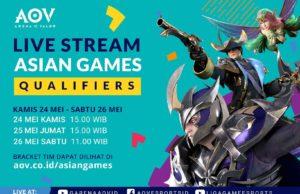AOV Untuk Asian Games 2018