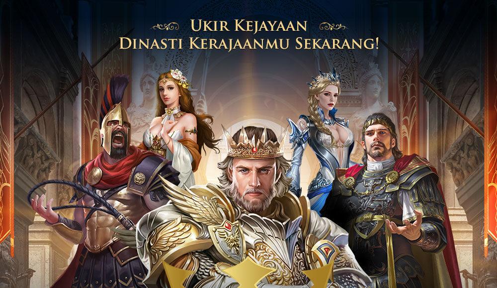 Gravity Game Link merilis Mobile Game terbarunya yang berjudul The Lord : Age of Renaissance