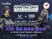 UniPin dan Riot Games SEA Dukung Emansipasi Perempuan Lewat Charity Match di Hari Kartini.